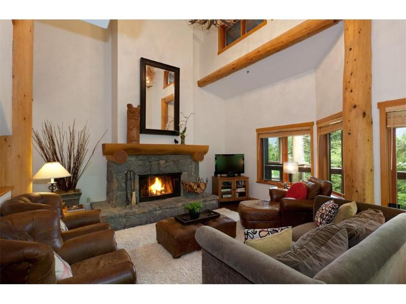 Living Room- Wood burning Fire place