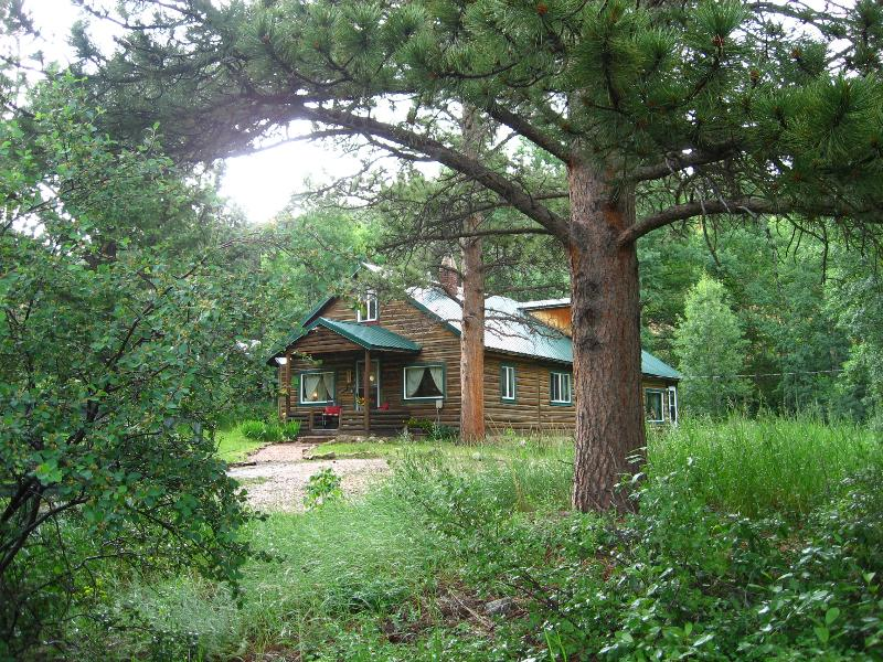 Cascading Creek Log Cabin Allenspark CO, picture yourself here...