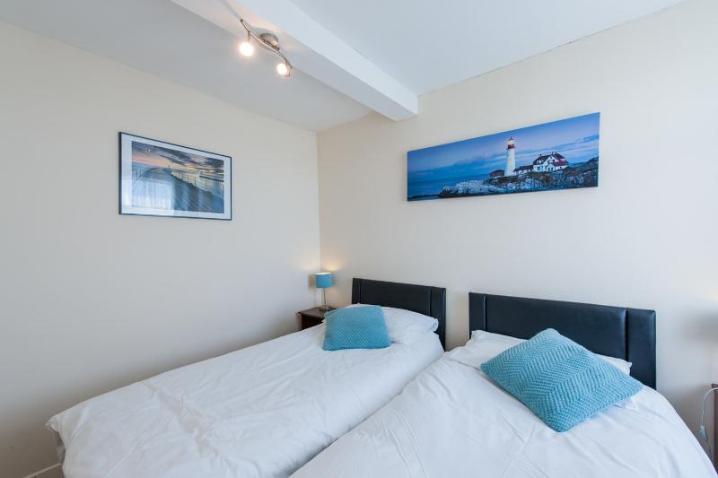 The Twin Bedroom which can also be turn into a super kingsize bed