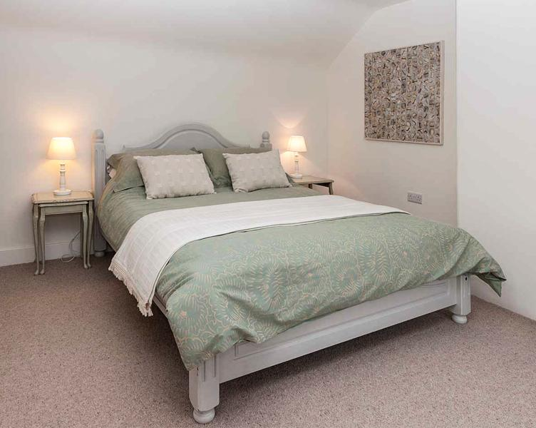 Bedroom 3 with kingsize bed and ensuite bathroom