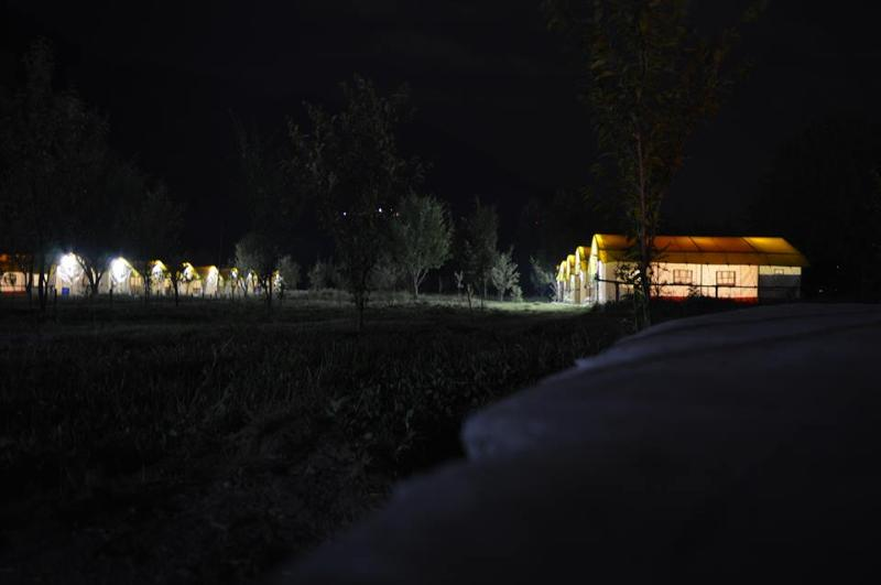 Our camp at Night time