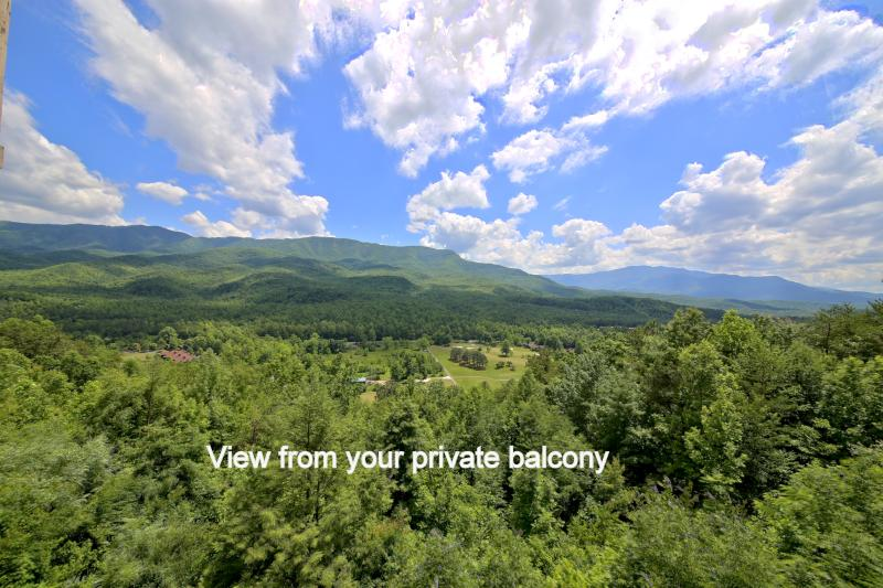 Spectacular Views from your balcony