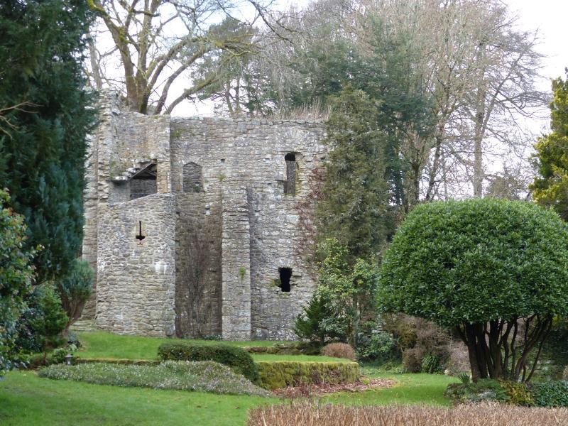 Gidleigh castle.