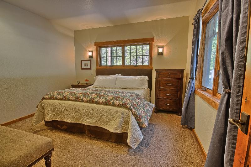 First Floor King Bedroom, No Stairs to Access This Room (Bath on Same Floor)