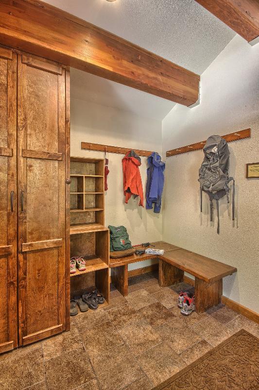 Mudroom Coat and Shoe Storage