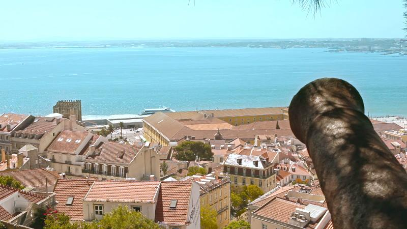Tejo River View from St Jorge Castle