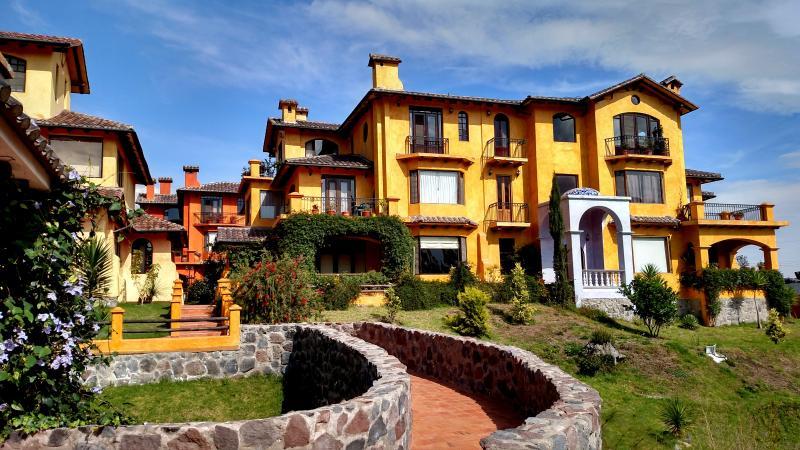 The Laguna building in La Casa de los Suenos development of Cotacachi Ecuador