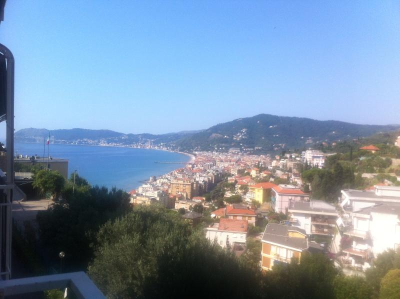 Alassio gulf view from apartment