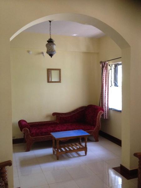Living Room: long settee