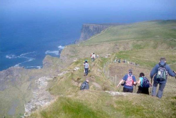The World Famous 10 mile cliff walk