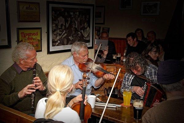 Great Irish Traditional Music in the Bars every night