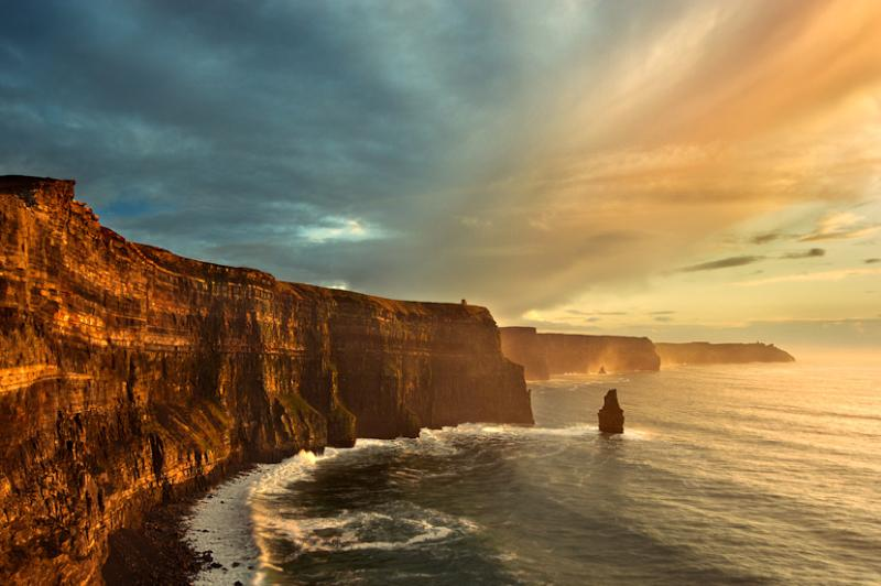 The beautiful Cliffs of Moher Just a few minutes away