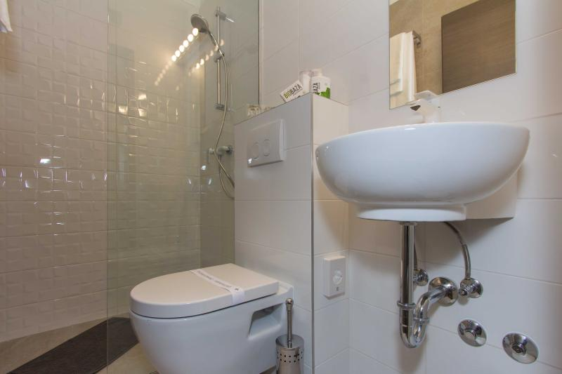 Walk in shower is available in each bathroom