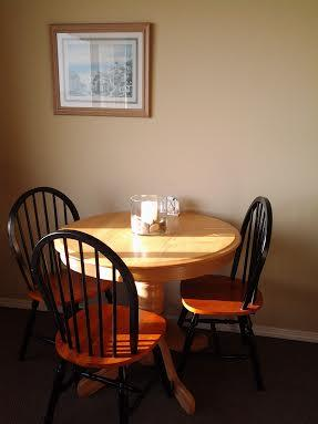 Great Table by the Window to Eat Breakfast, Cozy Dinner or Play Games