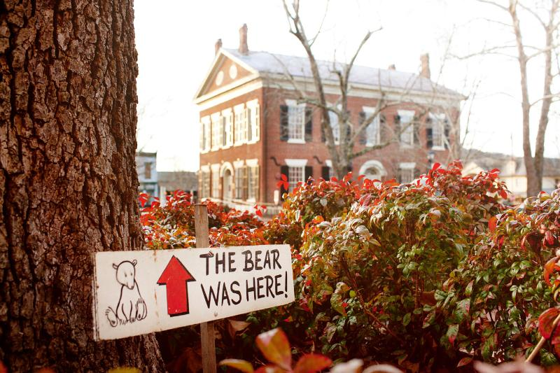 Every Spring, Dahlonega hosts the 'Bear on the Square' festival.