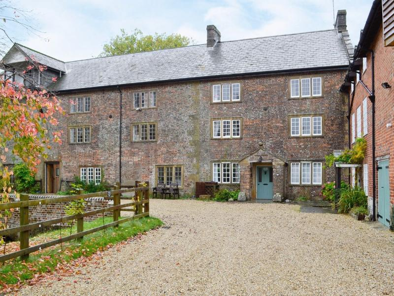 Mill House stands in a beautiful courtyard with ample parking