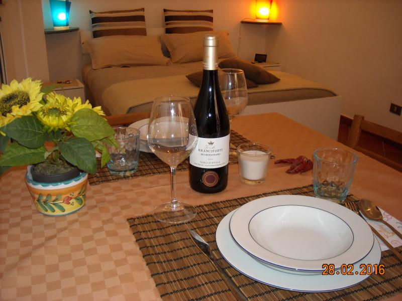 tutto il necessario per una cena Romantica!