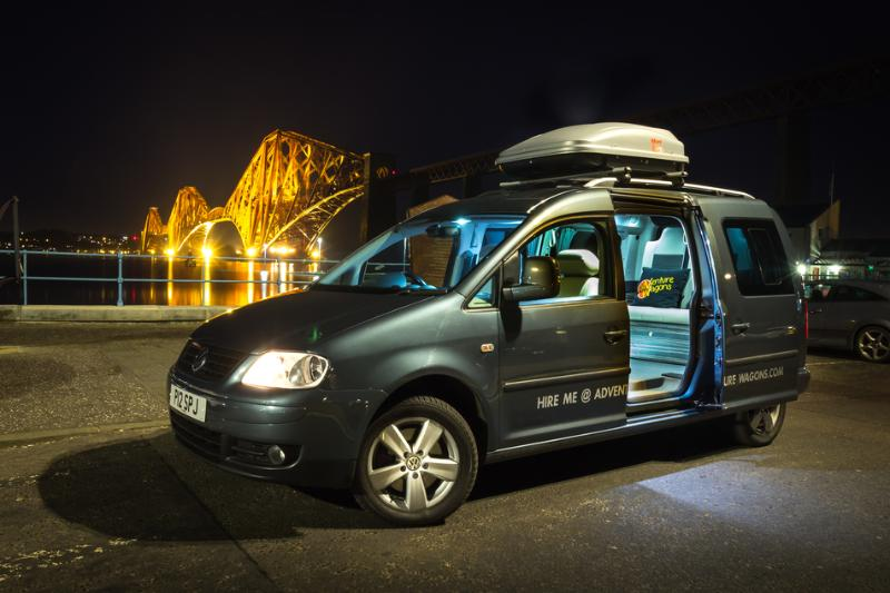 Adventure Wagons VW Caddy Camper Van Hire - TripAdvisor - Holiday
