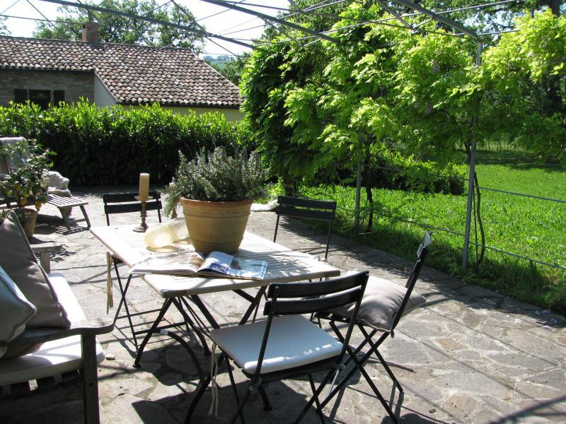 Ferienhaus 'La Piccola Quercia' in Italien, holiday rental in Montefortino