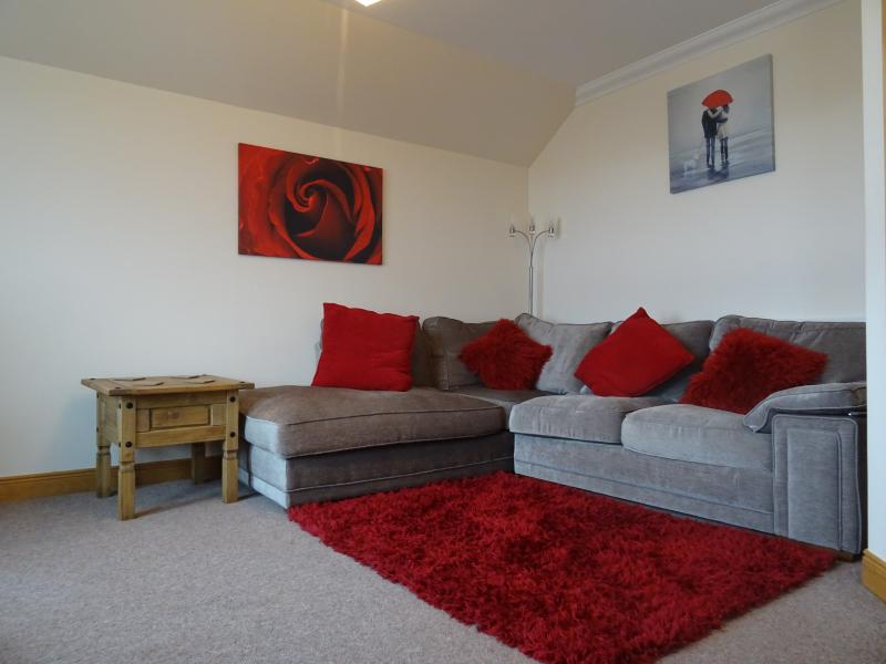 Comfortable lounge area with TV / DVD / HI FI and Broadband access.