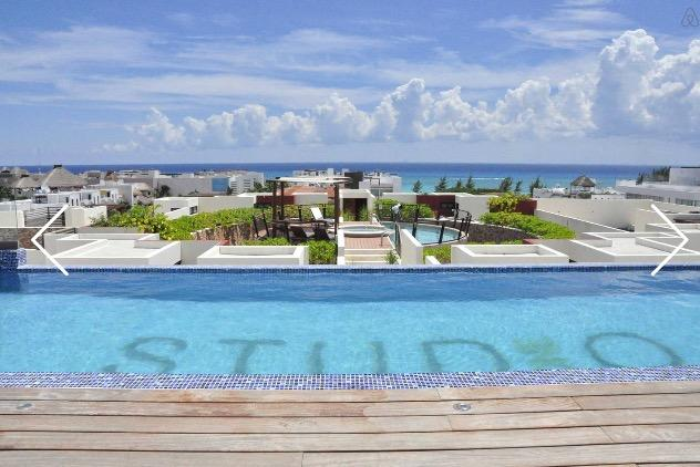 Roof Garden w/swimming pool and Ocean View