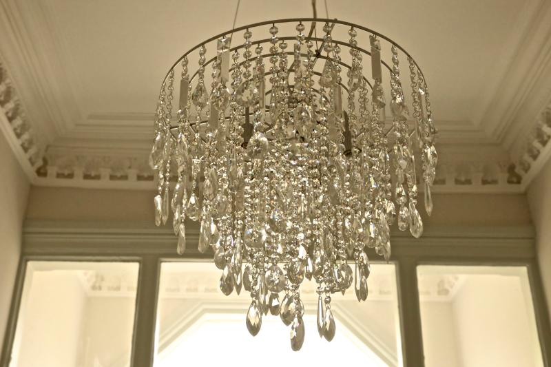 Entrance Hall chandeliers