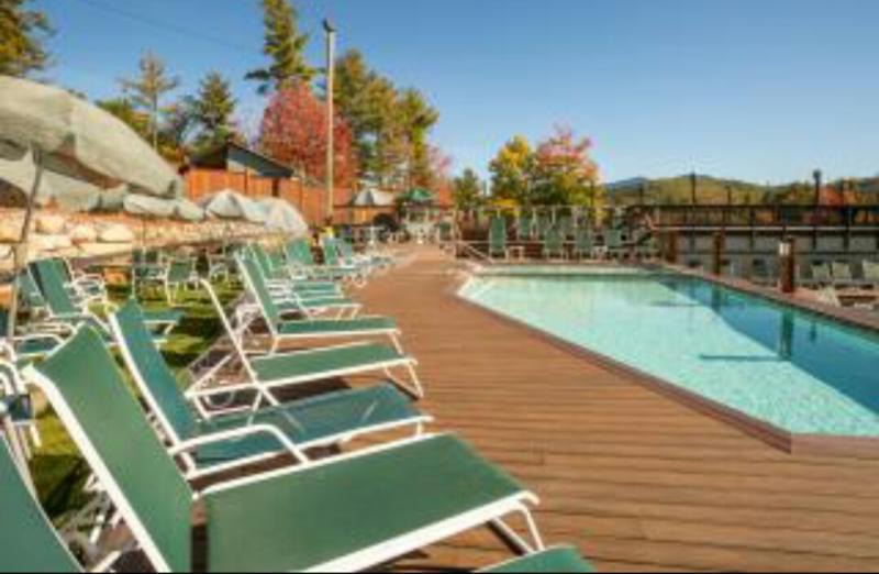 Waterville Estates recreation center in our neighborhood