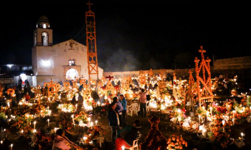 Day of the Dead in Ocotepec