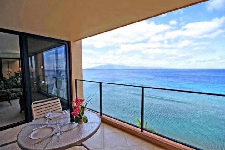 Enjoy the picturesque views from the Lanai!
