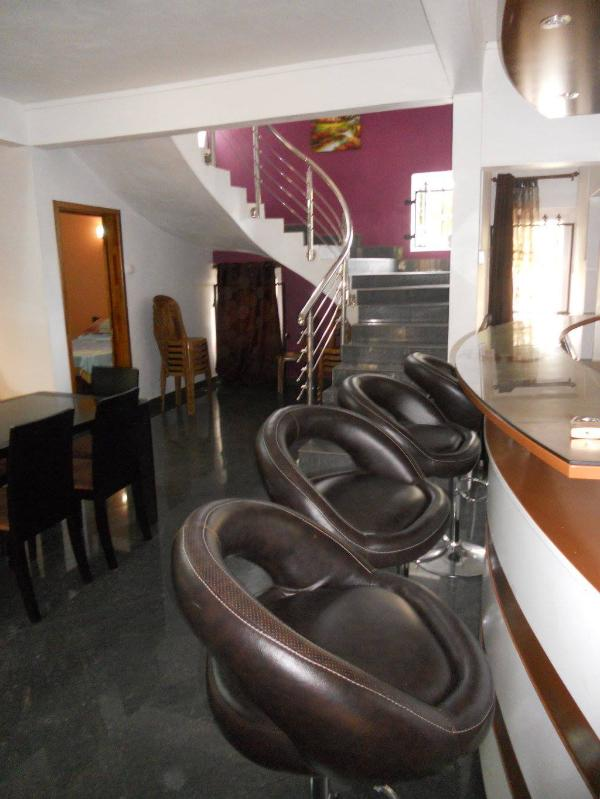 Stairs that leads to up ward bedrooms and terrace