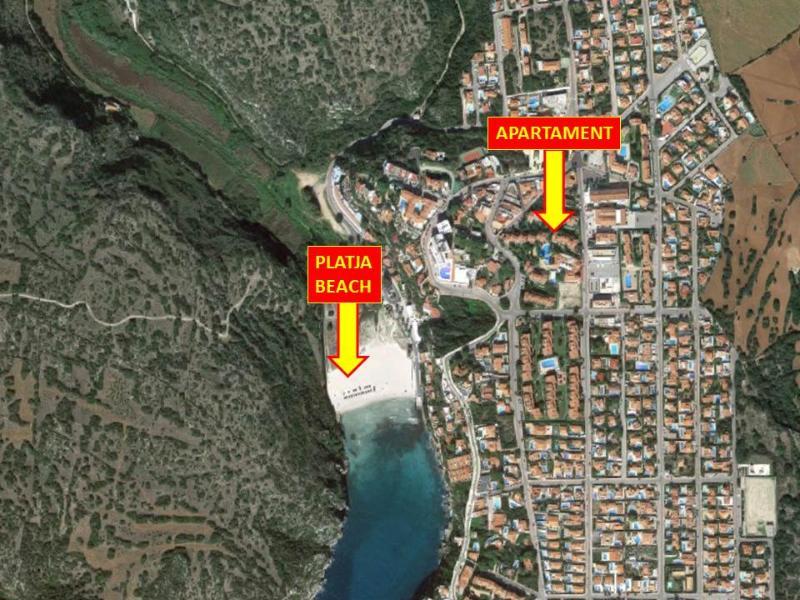 Detalle exacto de la ubicación. Muy cerca de la playa
