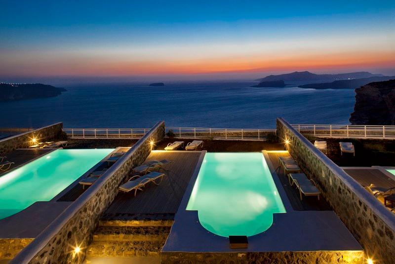 BlueVillas | Villa Persephone | Private swimming pool with unlimited sea view, location de vacances à Megalochori
