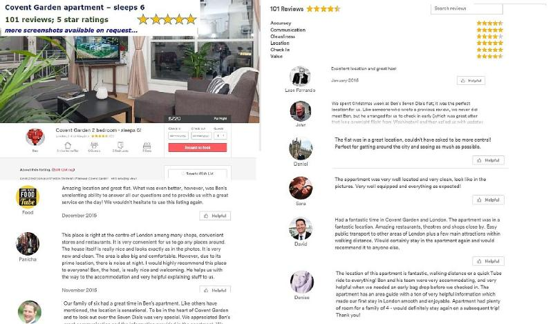 More than 100 excellent 5 star reviews from other sites; available on request! Professional host.