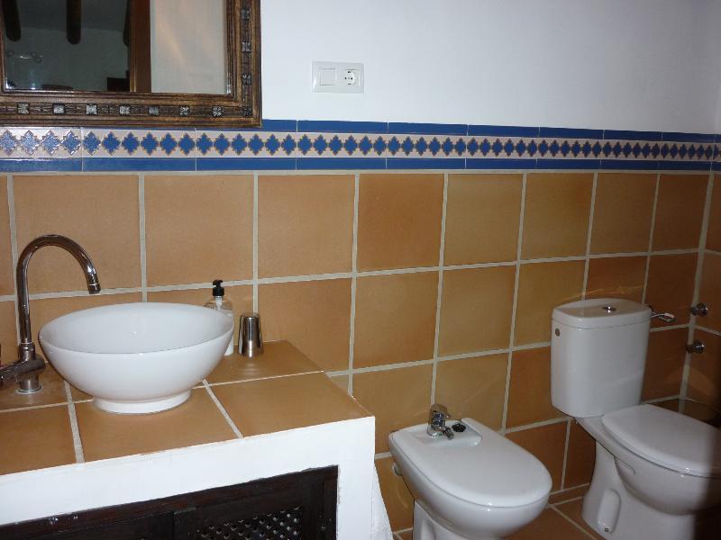 Ensuite bathroom in Casita Perdiz main bedroom