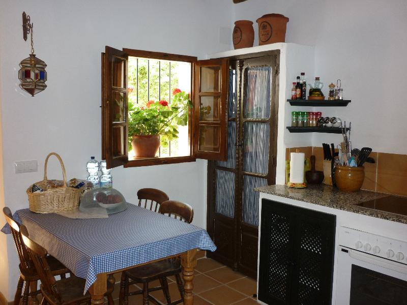 Indoor eating in Casita Perdiz