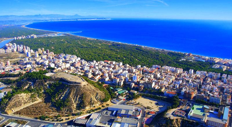 General view Guardamar city