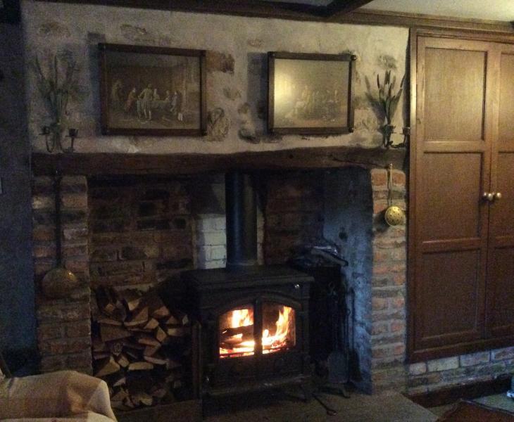New woodburning stove