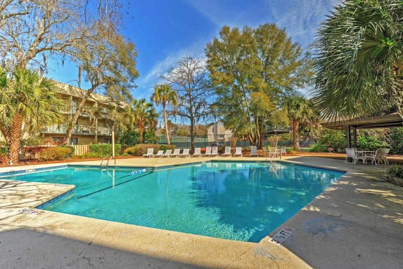 Welcome to paradise at this Hilton Head Island vacation rental condo.