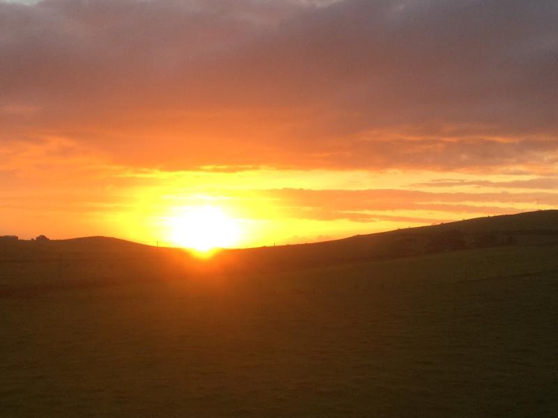 Breathtaking sunsets on the doorstep!