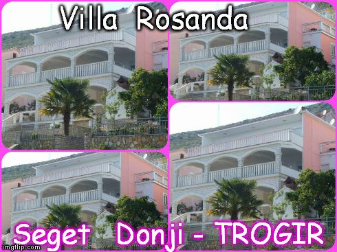 A2 (4+0)  VILLA  ROSANDA - SEGET DONJI, TROGIR, vacation rental in Donji Seget