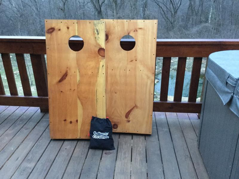 Cornhole Boards and Bags for you to enjoy