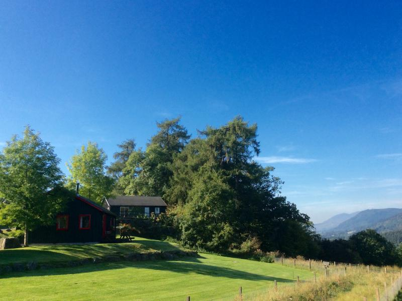 Drumcroy Highland Lodges, vacation rental in Dalguise