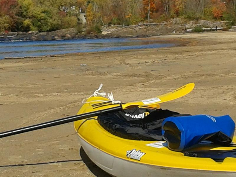 Beautiful sandy beaches of the Rouge River
