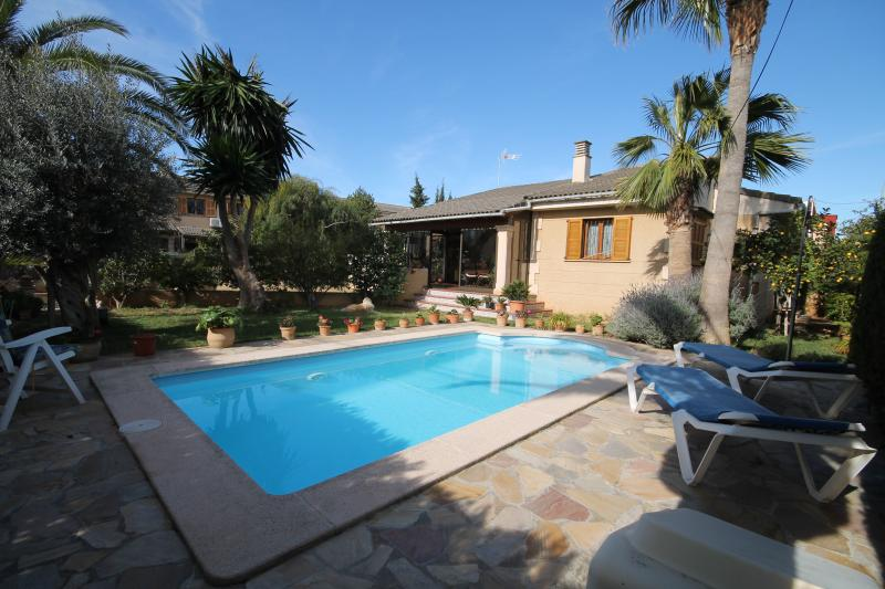 Swimming pool and  private gardens