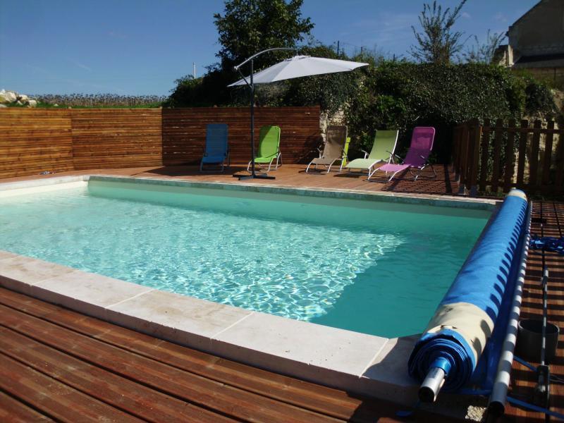 piscine chauffée 7m/4m