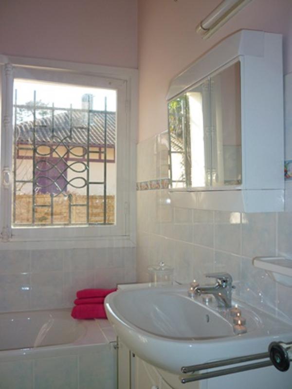 salle de bain 2 baignoire,wc privatif,vasque,bidet,rangements