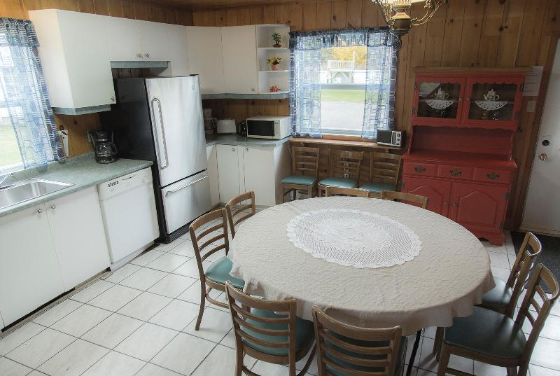 Kitchen with second dining table