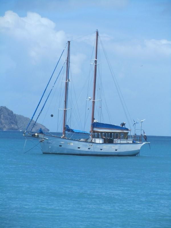 The Horta on the Tobago Cays