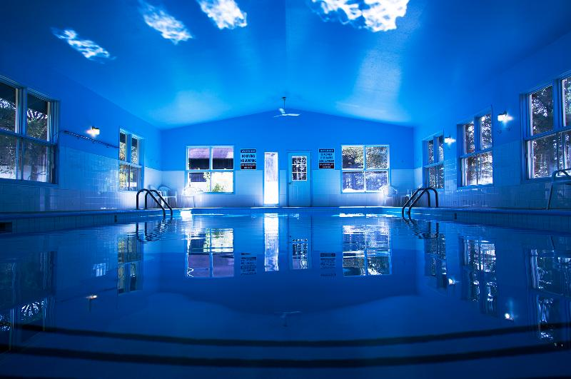 Our indoor pool just 2 minutes from the villas. (located on our main site)