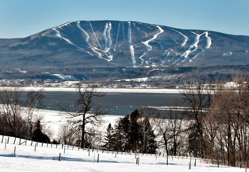 Beautiful Mont-Sainte-Anne.